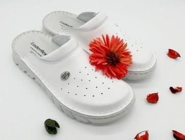 Lahki zaščitni delovni čevlji KALA - beli