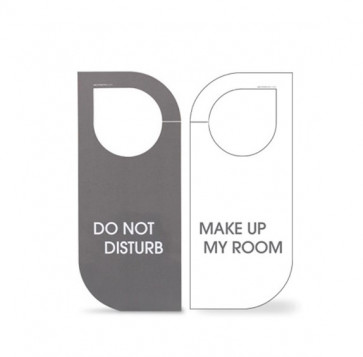 "Obvestilo ""Make up my room"" - ""Do not disturb"""