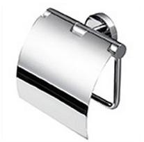 Držalo za toaletni papir s pokrovom - Shine