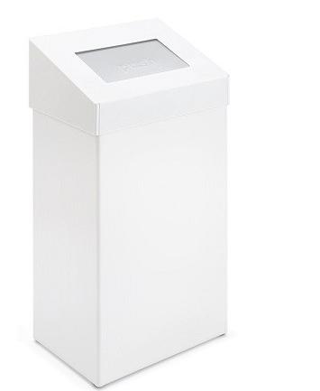 Koš za sanitarne odpadke in nerjavečega jekla - 50 l