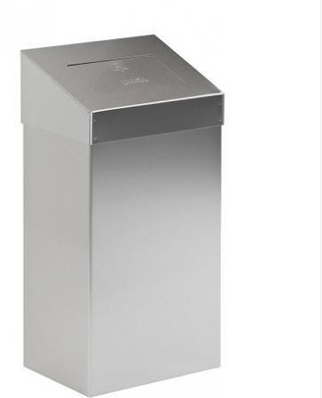 Koš za sanitarne odpadke iz nerjavečega jekla - 18 l