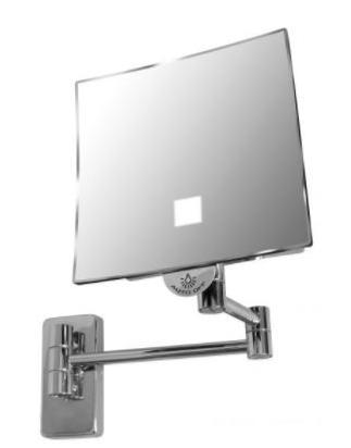 Kozmetično ogledalo - Eclipse Kvadratno z LED