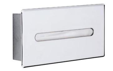 Montažna škatla za toaletne robčke - Aliseo