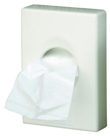 Podajalnik higienskih vrečk - držalo higienskih vrečk White