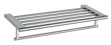 Polica za brisače z držalom za obešanje brisač - Chrome 60 cm