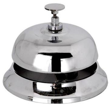 Recepcijski zvonec - krom