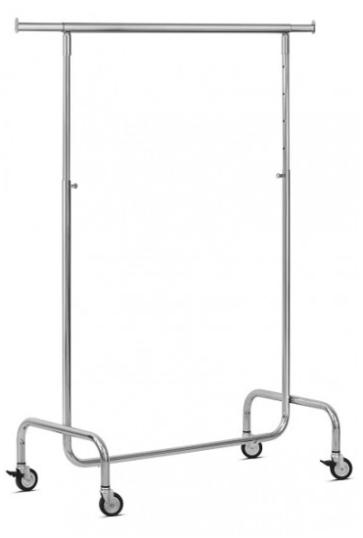 Stojalo za oblačila na koleščkih - 120 kg