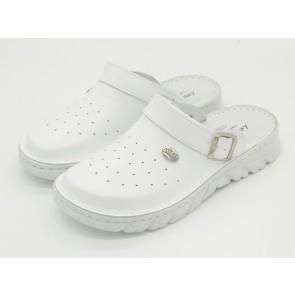 Lahki zaščitni delovni čevlji Benita - beli