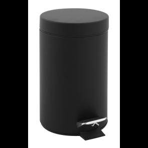 Koš s pedalom - 3 litrni Black