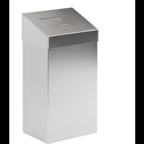 Koš za sanitarne odpadke iz nerjavečega jekla - 50 l