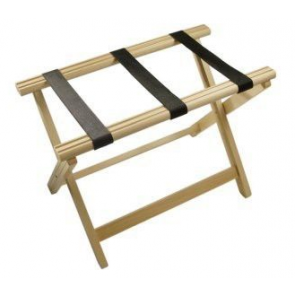 Stojalo za prtljago leseno bukev