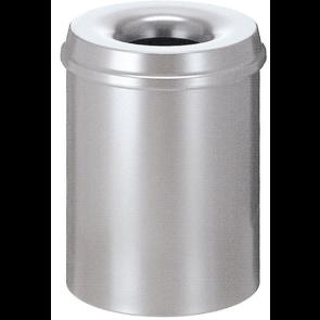 Koš za papir, samodejno gašenje 15 l, srebrna