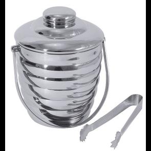 Vedro za led 1 liter - nerjaveče jeklo