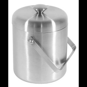 Vedro za led 2 litra - nerjaveče jeklo